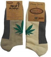 hemp ankle socks