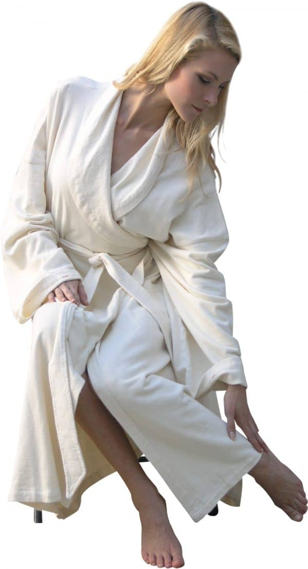 hemp spa robe