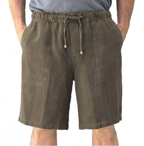 Hemp shorts Cobblestone
