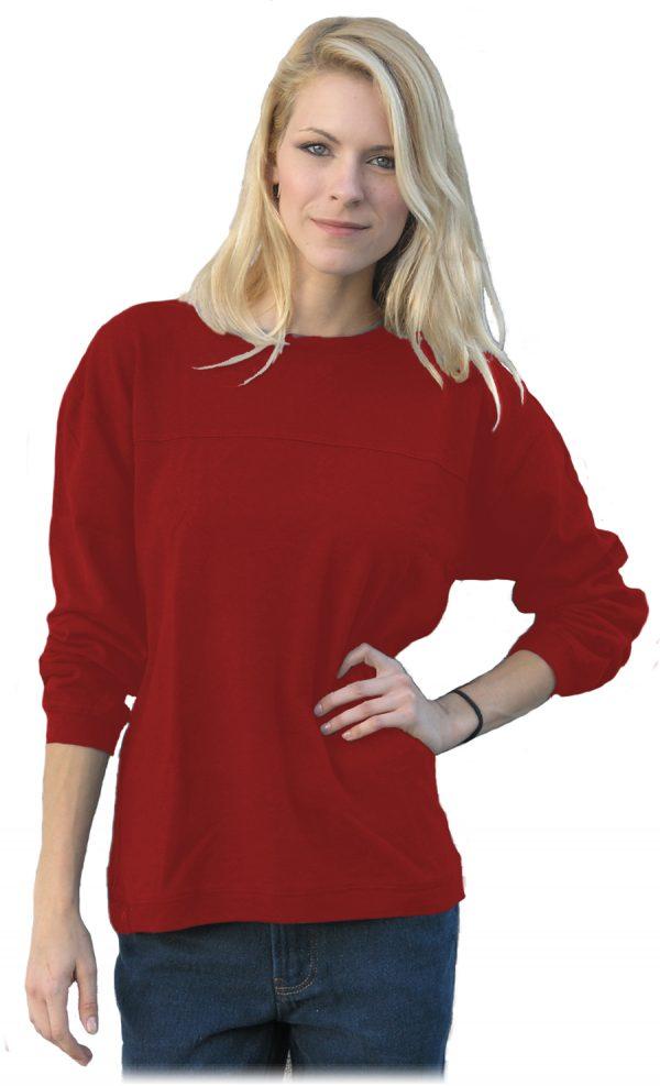 Biking Red Hemp Shirt