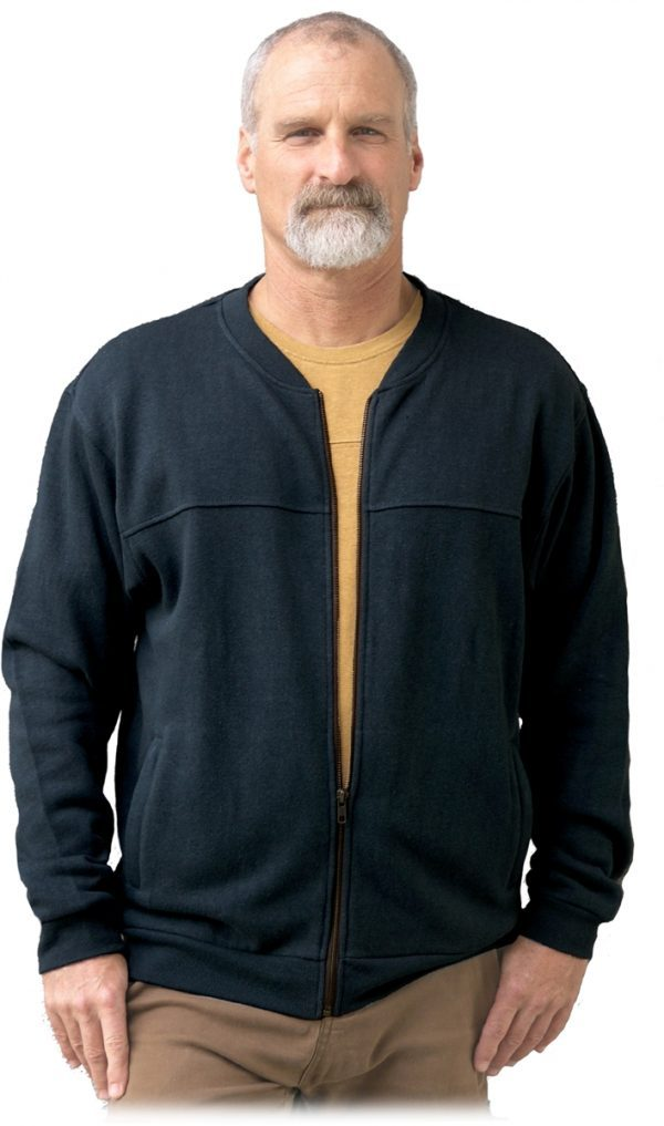 Monterey Hemp Zipper Jacket