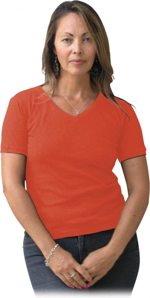 Coral hemp T shirt