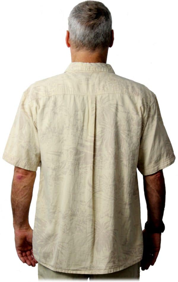 Hemp shirt Back
