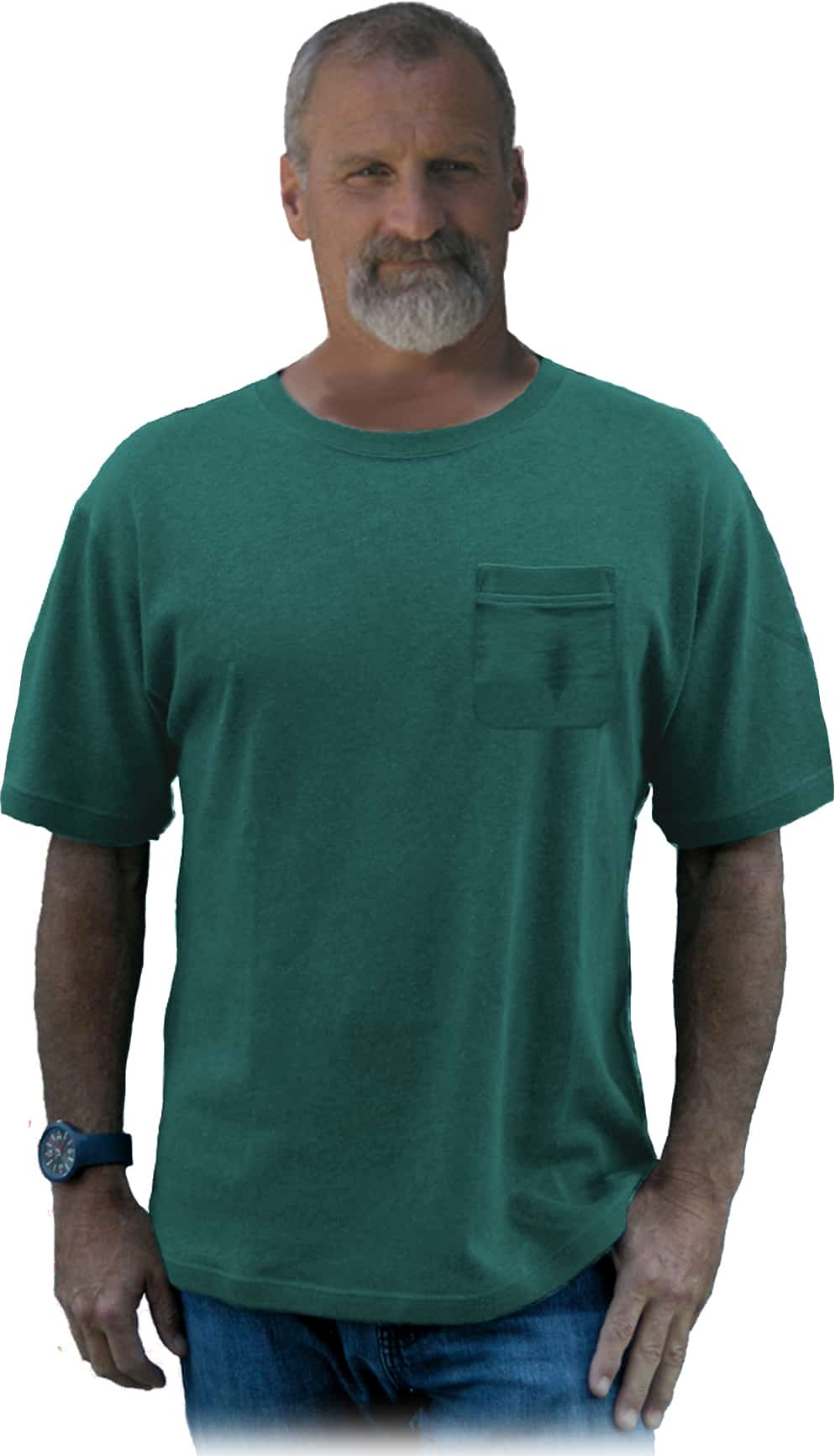 hemp pocket T shirt