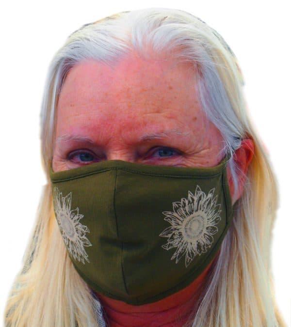 Sunflower Hemp Mask