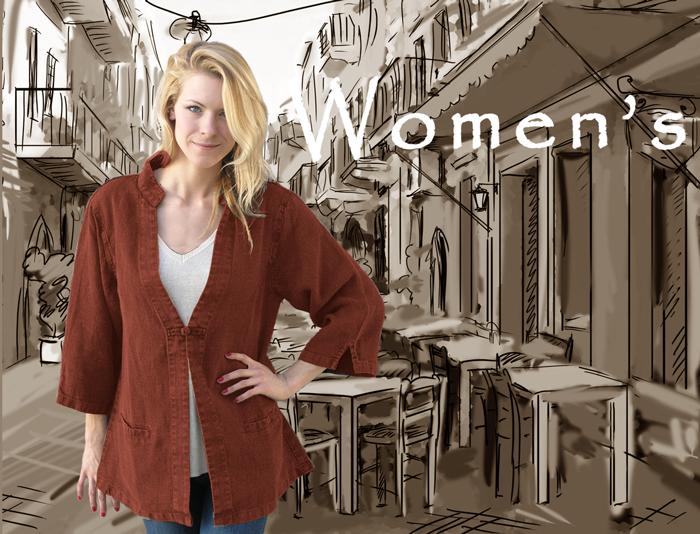 Women's hemp clothing